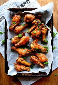 Thai Red Curry Lime Wings @thewoksoflife1