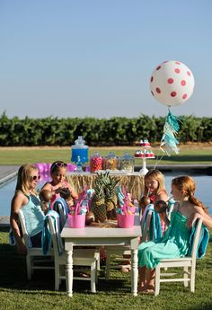 Decor, Game Ideas and More for a Kids Summer Pool Party