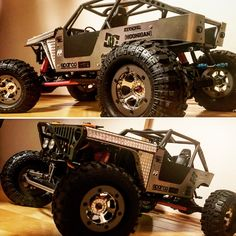 Axial wraith willys jeep looks.