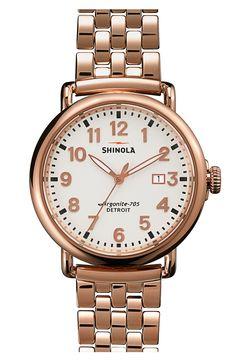 Shinola 'The Runwell' Bracelet Watch, 41mm   Nordstrom
