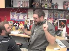 WWE Employees Contend with an Aggressive Fandangoer at HQ. #Fandangoing - i wanna work there!!!!