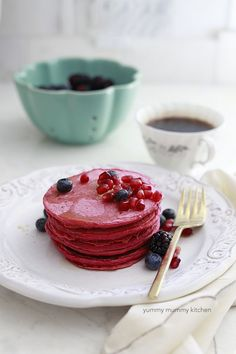 beet pancakes recipe Replace flour with bashing blend & use super sweet blend for sugar (or omit)