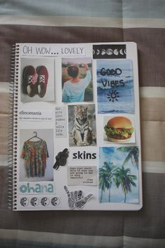 Make a Tumblr collage notebook                              …