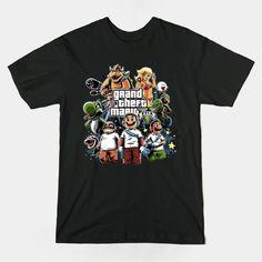 VIOLENT MARIO T-Shirt - Super Mario Bros T-Shirt is $13 today at Ript!