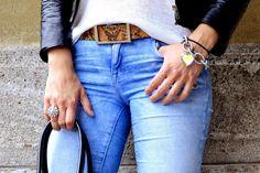 www.blonde-conept.com Jacket/Top by H&M, Denim by Zara, Belt by Furla #fashionblogger