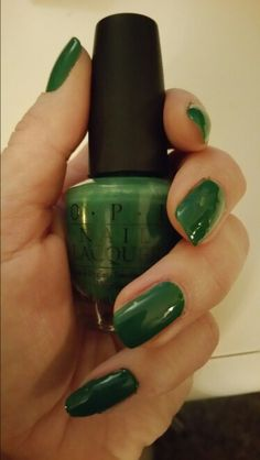 Jade is the new black #opi
