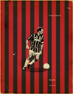 Famous Footballers by Jon Rogers, via Behance #soccer #poster