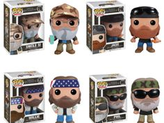 Duck Dynasty Pop! Vinyl Figures-- I need to get these for the Fi