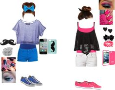 """""""BFF OUTFIT"""" by milan2402 ❤ liked on Polyvore"""