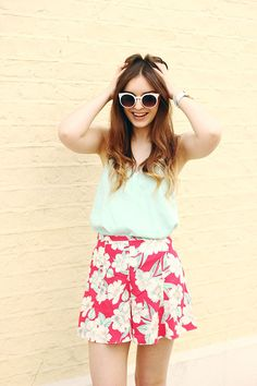 Tropical shorts Citizen Watches Summer outfit