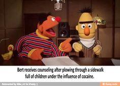 66 Trendy Ideas For Memes Dark Sesame Street Dark Jokes, Dark Humour Memes, Dankest Memes, Stupid Funny Memes, Funny Relatable Memes, Hilarious, Funniest Memes, Funny Shit, Funny Cats