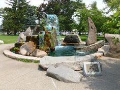 A large fountain dedicated to all Vietnam Era veterans is located in Coe Memorial Park in Torrington, CT