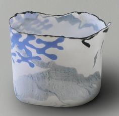 Henk Wolvers pure porcelain.