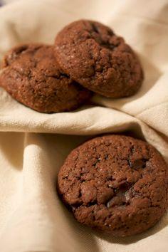 Cookies au chocolat et crème de menthe