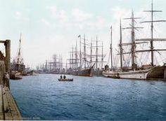 Port of Hamburg, ca. 1890