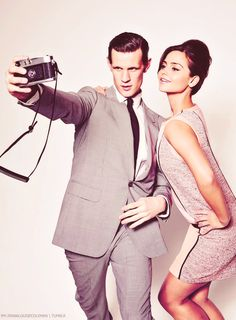 Matt Smith & Jenna Louise Coleman -