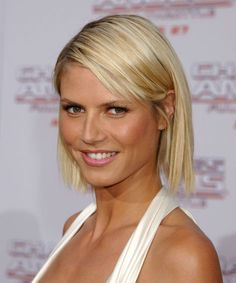 Hairstyle Inspiration From Heidi Klum Supermodels will amaze people when they are on the runways. However, there is no question that many people will find inspiration from the supermodels . Heidi Klum Hair, Beachy Hair, Bleach Blonde, Different Hairstyles, Bob Hairstyles, Stylish Hairstyles, Beautiful Hairstyles, Hair Trends, Medium Hair Styles