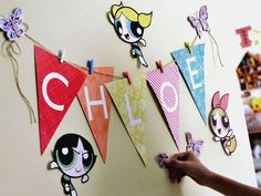 doing a ppg party for Celest this year...this is a cute idea!