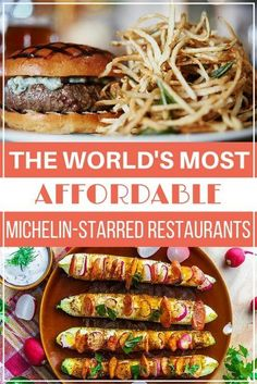 The World's Most Affordable Michelin-Starred Restaurants