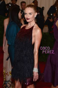 Kate Bosworth in Prada at the Met Gala.