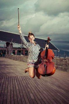 Flying cello