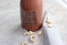 Cashew-Trinkschokolade #vegan #gesund #kakao #trinkschokolade #healthy