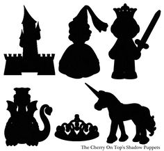 Shadow Puppets From The Cherry On Top Shadow Art, Shadow Play, Easy Crafts For Kids, Art For Kids, Shadow Theatre, Paper Crafts Magazine, Puppets For Kids, Album Jeunesse, Puppet Show