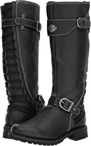 I LOVE!!!!!! Amazon.com | Harley-Davidson Women's Lenehan Motorcycle Boot, Black, 7 Medium US | Boots #harleydavidsonboots