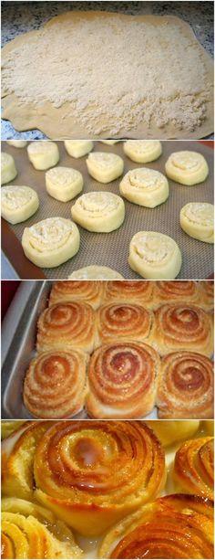 Esta receita é bem antiga,mas muito gostosa ainda hoje é sempre bem vinda!!❤️ veja aqui>>>Numa tigela, dissolva o fermento com o açúcar. Acrescente o leite morno, os ovos, o sal, o óleo e a farinha de trigo, aos poucos, mexendo com uma colher de pau até dar ponto de passar para a bancada e sovar com as mãos #receita#bolo#torta#doce#sobremesa#aniversario#pudim#mousse#pave#Cheesecake#chocolate#confeitaria
