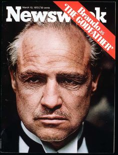 """The man who made offers others couldn't refuse once refused the movie industry's heftiest honor. On March Marlon Brando declined the best actor Academy Award for his gut-wrenching performance as Vito Corleone in """"The Godfather. Brando Godfather, Marlon Brando Movies, Godfather Movie, Martin Scorsese, Stanley Kubrick, Alfred Hitchcock, Familia Corleone, 40 Years Ago Today, Don Corleone"""