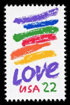 Corita Kent Love Stamp