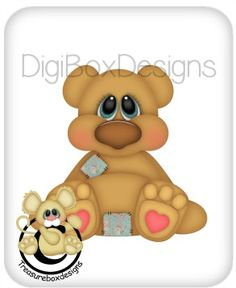 Digital Stuffy Bear