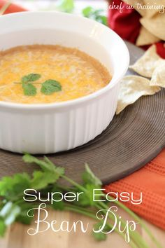 Super Easy Bean Dip