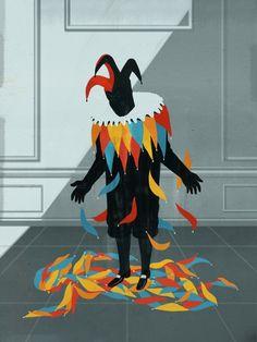Rigoletto,Emiliano Ponzi illustration