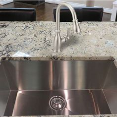 Gorgeous #stainless #steal #sink with a Brantford faucet!