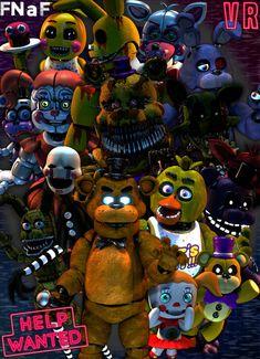 FNaF Help Wanted by luizcrafted on DeviantArt - Marni Durke Freddy S, Fnaf Golden Freddy, Five Nights At Freddy's, Fnaf 1, Anime Fnaf, Bts Suga, Fnaf Baby, Fnaf Wallpapers, Help Wanted