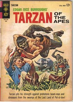 tarzan comic books | Tarzan Comic Book 142 Gold Key Comics 1964 Very Good | eBay