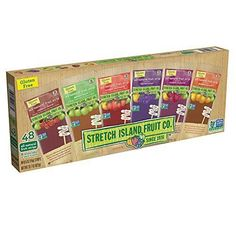 Stretch Island Fruit Leather Variety Pack 48-Count, 0.5-Ounce Package    eBay