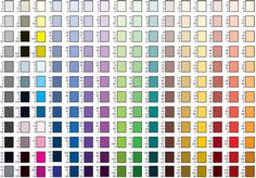 cmyk color chart for printing | printed version of this Design Guide is included in our sample pack ...
