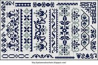 Free Easy Cross, Pattern Maker, PCStitch Charts + Free Historic Old Pattern Books: Alphabete und Muster zum Wäschezeichnen und Sticken II