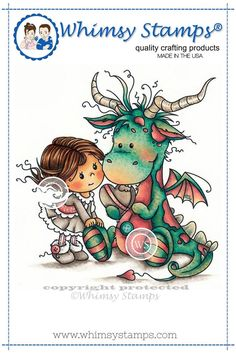 Whimsy Stamps Betty and Bob