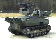 OTAKU GANGSTA:So you think you're safe behind the wall of your compound with a hundred armed guards and the best security system money can buy huh? Well, welcome to hell bitch! Military Robot, Military Weapons, Drones, Army Vehicles, Armored Vehicles, Armored Truck, Offroader, Big Guns, Military Equipment