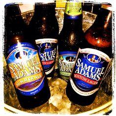 Love the taste of Sam Adams Beers, especially the seasonals.