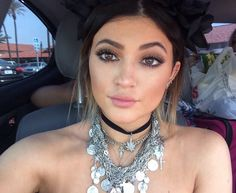 Kylie Jenner, I'm in love with all of the Kardashian's but lately I die over Kylie. She is growing to be so beautiful