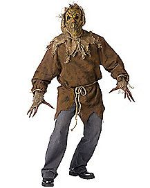 Costumes For All Occasions Scarecrow Adult Rough hewn shirt rope belt gloves with extended fingers and mask with attached hood. Fits up to ensured.Have the most fun this Halloween or at any costume party.Offers a huge selection of ideas and themes. Scarecrow Mask, Halloween Costumes Scarecrow, Halloween Men, Spirit Halloween, Halloween Makeup, Halloween Ideas, Halloween Recipe, Halloween College, Halloween Nails
