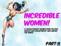 INCREDIBLE WOMEN (II)