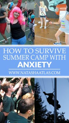 WORKING AT SUMMER CAMP WITH ANXIETY