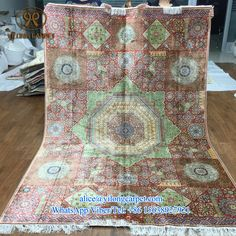 Today promotion from Yilong Carpet factory Handmade garden design silk carpet Rug No.: 200L TXW-1115 Size: 170X245cm ( 5.6x8ft ) Material: silk Producing time: 9 months Price: usd4483 More information, please contact Ms. Alice  alice@yilongcarpet.com WhatsApp/Viber/Tel: +86 15638927921