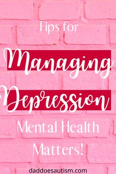 Depression has often been a taboo subject, but it is so important that we talk about it. I share my story and give you my tips for managing depression and living the best life that you can.
