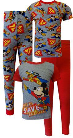 Mickey Mouse Christmas Pajamas Toddlers